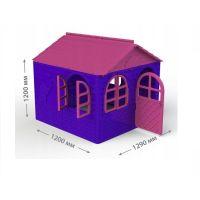 Casuta de joaca MyKids roz/violet