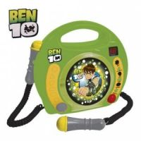 Reig Musicales - CD Player Ben 10 cu 2 microfoane