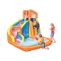 Centru de joaca gonflabil cu apa Turbo Splash Mega Water Park Bestway 53301
