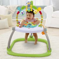 Fisher Price - Centru de activitati Rainforest Spacesaver Jumperoo