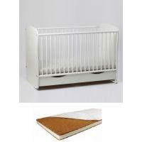 Bebe Design - Patut Clasic Confort Natur + Saltea