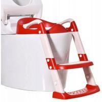 Reductor toaleta cu scarita si colac moale York Red