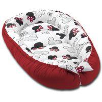 Cosulet bebelus pentru dormit Kidizi Baby Nest Cocoon 90x50 cm Minnie