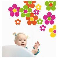 Sticker Colectie floricele colorate