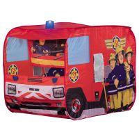 John - Cort de joaca Fireman Sam Fire Truck Sam cu girofar