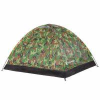 Cort camping 2 persoane Army, 200 x 150 x 110 cm, plasa insecte si filtru UV