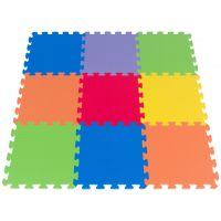 Covoras de joaca termic multicolor 240x120 cm, tip puzzle