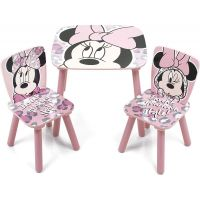 Delta Children - Set masuta si 2 scaunele Minnie