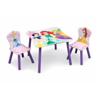 Delta Children - Set masuta si 2 scaunele Princess Friendship