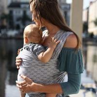 Boba - Wrap elastic pentru purtarea bebelusilor Limited Edition Trikotnik