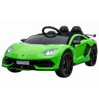 Masinuta electrica Chipolino Lamborghini Aventador SVJ green cu roti EVA