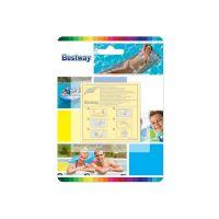 Set 10 folii autoadezive pentru reparat piscine gonflabile Bestway 62068