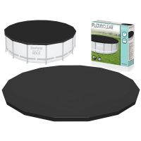 Prelata piscina rotunda cu cadru metalic Bestway diametru 488 cm 58249 resigilat