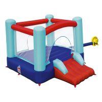 Centru de joaca gonflabil cu trambulina si tobogan Bestway 53310
