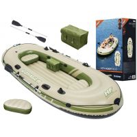 Barca gonflabila Bestway Hydro-Force Voyager 500, 3,48mx 1,41m, 3 persoane