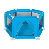 Tarc  joaca copii hexagonal 125 x 65 cm Blue