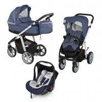 Carucior multifunctional 3 in 1 Espiro Next Stylish Blue