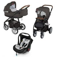 Carucior multifunctional 3 in 1 Espiro Next Avenue Beige Sand