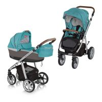 Carucior multifunctional 2 in 1 Espiro Next Manhattan Florida Turquoise