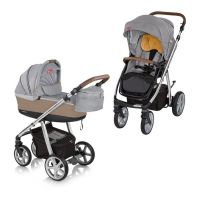 Carucior multifunctional 2 in 1 Espiro Next Manhattan Chicago Gray