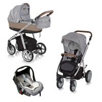 Carucior multifunctional 3 in 1 Espiro Next Manhattan Chicago Gray