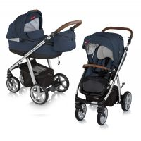 Carucior multifunctional 2 in 1 Espiro Next Avenue Navy Sky