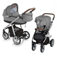 Carucior multifunctional 2 in 1 Espiro Next Avenue Grey Dove