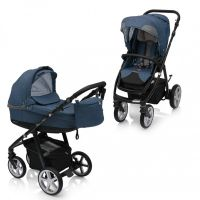 Carucior multifunctional 2 in 1 Espiro Next Flow Stylish Blue
