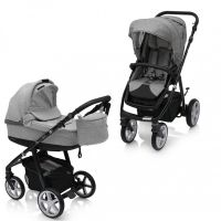 Carucior multifunctional 2 in 1 Espiro Next Flow Stylish Gray