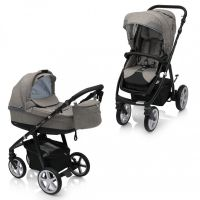 Carucior multifunctional 2 in 1 Espiro Next Flow Stylish Beige