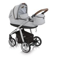Carucior multifunctional Espiro Next Avenue  2 in 1 Frozen Grey