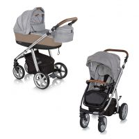 Carucior multifunctional 2 in1  Espiro Next Manhattan Chicago Gray