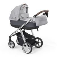 Carucior multifunctional 2 in 1 Espiro Next Manhattan Alaska Grey