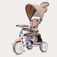 Coccolle - Tricicleta cu sezut reversibil Evo Bej