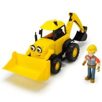 Excavator Bob Constructorul Action cu figurina Dickie Toys