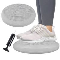 Perna echilibru si masaj Sensory Pro, include pompa, gri
