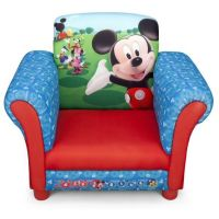 Delta Children - Fotoliu cu cadru din lemn Mickey Mouse