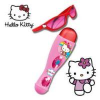 Reig Musicals - Set microfon si ochelari Hello Kitty
