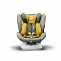 Scaun auto rotativ cu isofix 0-36 kg Bastiaan One Lionelo Yellow Mustard