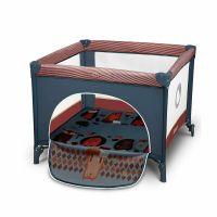 Tarc de joaca Sofie 100x100 cm Lionelo Blue Cobalt
