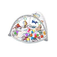 Qmini - Salteluta interactiva cu 20 bile Abby multicolor