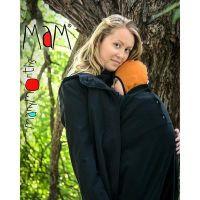 Protectie babywearing MaM din polar pentru vreme rece Black