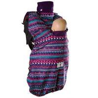 Protectie babywearing MaM din polar pentru vreme rece Boho