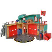 Statie de pompieri Fireman Sam Dickie Toys cu figurina si accesorii