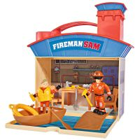 Jucarie Simba Statie salvamar Ocean Rescue Fireman Sam Wasserwacht