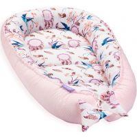 Cosulet bebelus pentru dormit Baby Nest Cocoon XL 90x50 cm Swallows