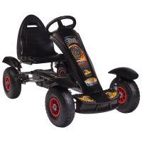 Kidscare - Kart cu pedale F618 Air negru