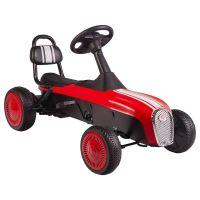 Kidscare - Kart cu pedale Retro rosu