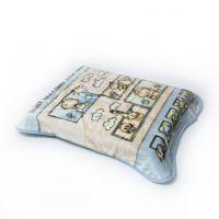 BoboBaby paturica plus in cutie 80x110 cm Bebelusi blue