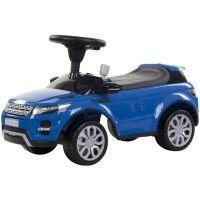 Masinuta fara pedale cu melodii si claxon Sun Baby Range Rover albastru